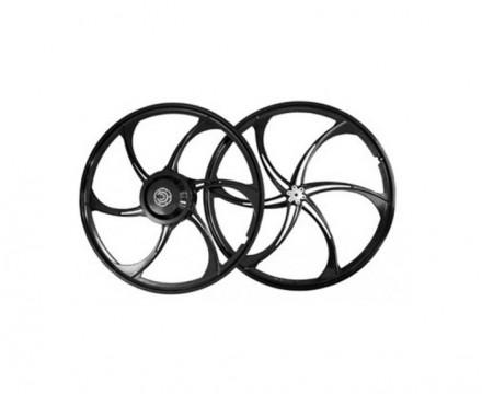 Мотор-колесо E-bike Kit 500 Ватт с литыми дисками 26', задний привод