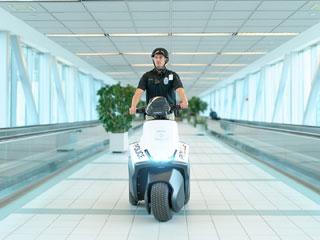 Новый мотоцикл для полицейских «SE-3 Patroller»